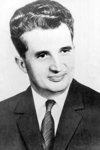 rumunský politik Nicolae Ceaușescu