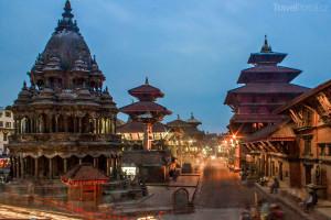 Patan s náměstím Durbar