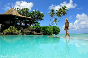 rezort na Cookových ostrovech