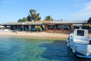 restaurace na ostrově Tavolara