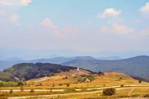 výhled z rozhledny Stoletov