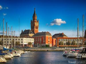 radniční zvonice v Dunkerque