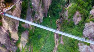 skleněný most v Číně