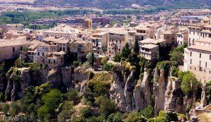 španělské město Cuenca