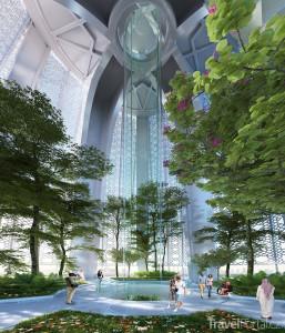 Takto bude The Tower vypadat uvnitř.