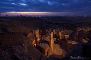 Göbekli Tepe v noci