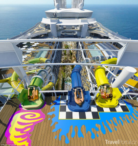 Harmony of the Seas má i vlastní aquapark