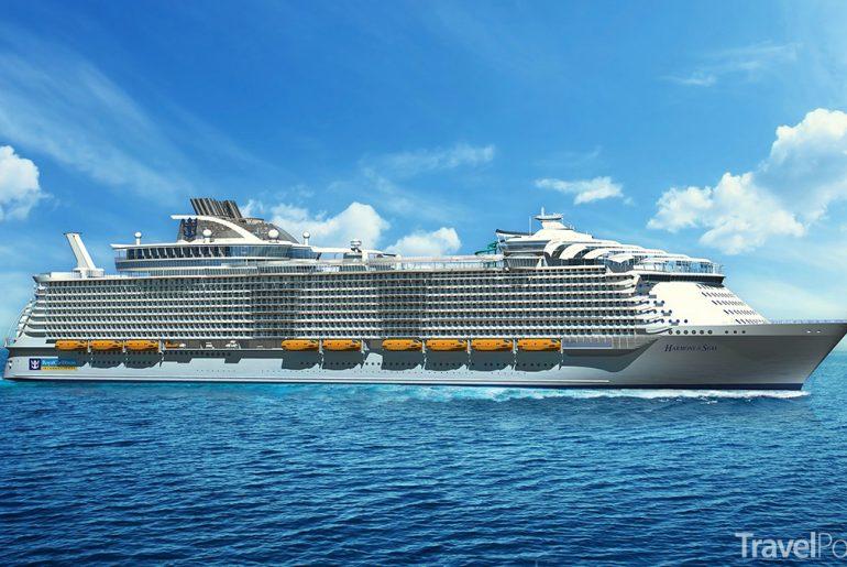 nová největší loď světa Harmony of the Seas