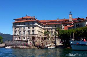 Isola Bella na jezeře Lago Maggiore