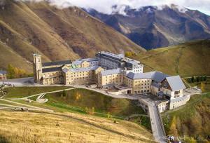 areál kláštera La Salette