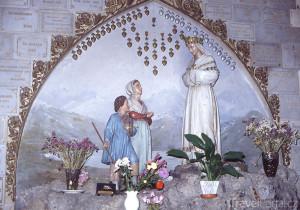 umělecké ztvárnění zjevení v La Salette