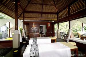 masážní salón ve městě Ubud