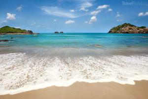 pláž ve státě Nikaragua