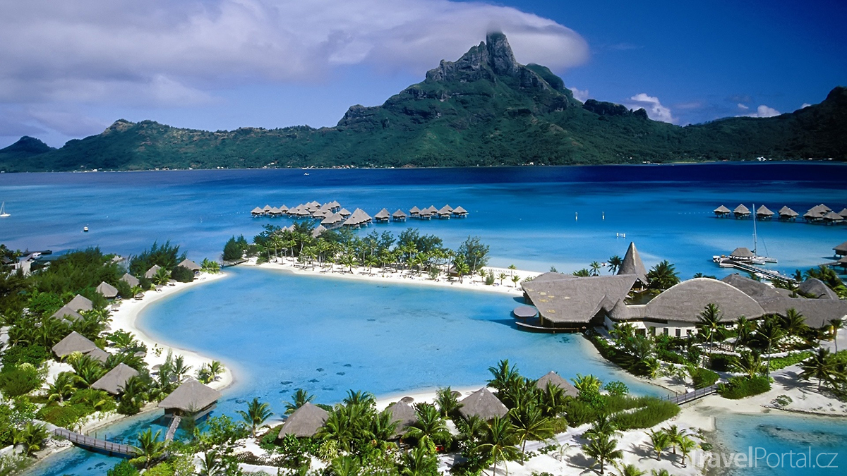 Spolecenske Ostrovy Tahiti Moorea I Bora Bora