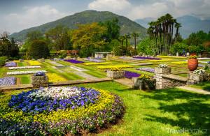 botanická zahrada Villa Taranto
