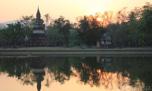 chrám Wat Trapang Ngoen