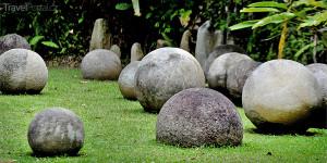 tajemné koule v Kostarice