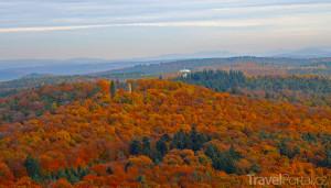 Falcký les na podzim