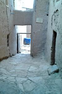 ulice v Ait Ben Haddou