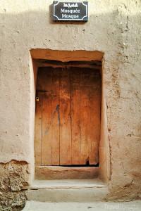 vchod do mešity