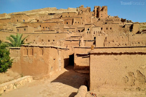 pohled na Ait Ben Haddou