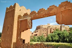 hradby v Ait Ben Haddou