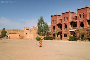 náměstí v Ait Ben Haddou