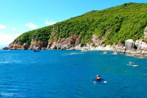 pobřeží města Nha Trang
