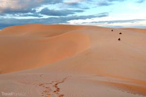 písečné duny v Mui Ne