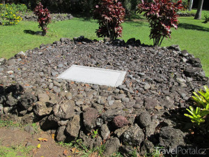 hrob letce Charlese Lindbergha