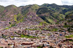 město Cuzco