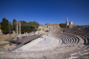 antické divadlo v Arles