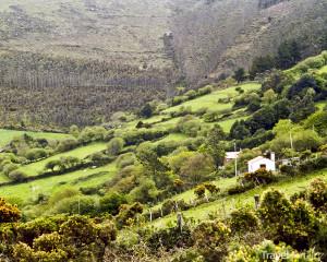 vnitrozemí Galície