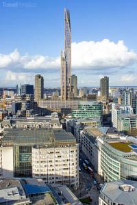 mrakodrap Oakwood Tower vizualizace