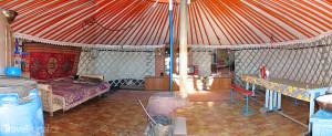 interiér jurty