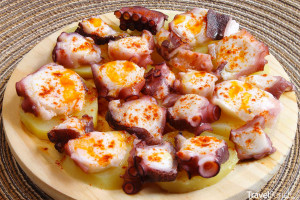 jídlo pulpo a feira