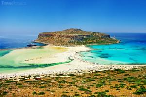 laguna Balos na ostrově Kréta
