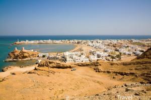 město Súr v Ománu
