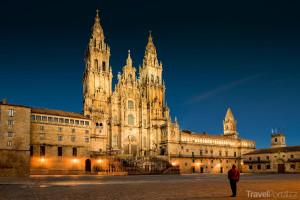 katedrála ve městě Santiago de Compostela