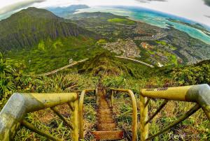 schodiště Stairway to Heaven