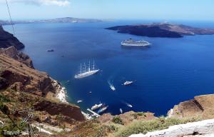 souostroví Santorini