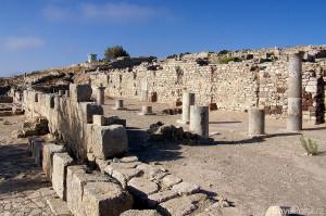 ruiny starověkého města