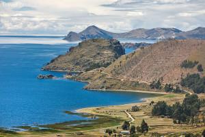 jezero Titicaca v Peru