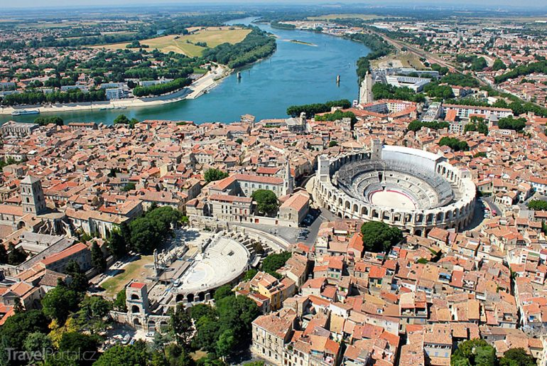 francouzské město Arles