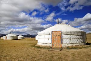 jurty v Mongolsku