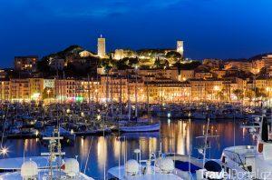 Cannes v noci