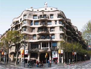 Casa Mila v Barceloně