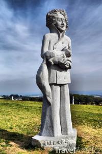 socha v Bretani
