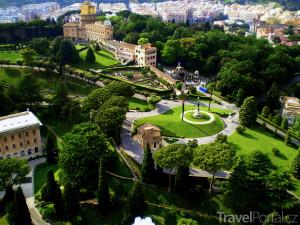 zahrady Vatikánu