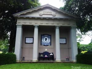 památník princezny Diany